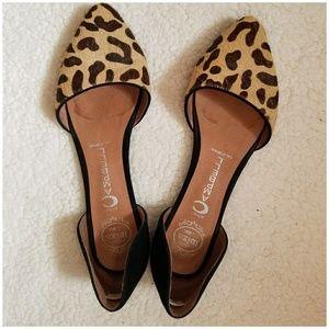 Jeffrey Campbell in love flats- leopard